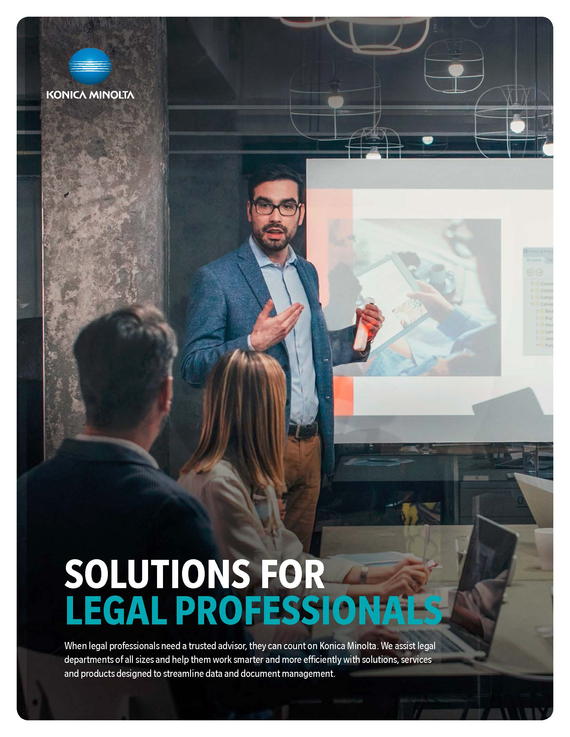 Konica Minolta Legal Brochure