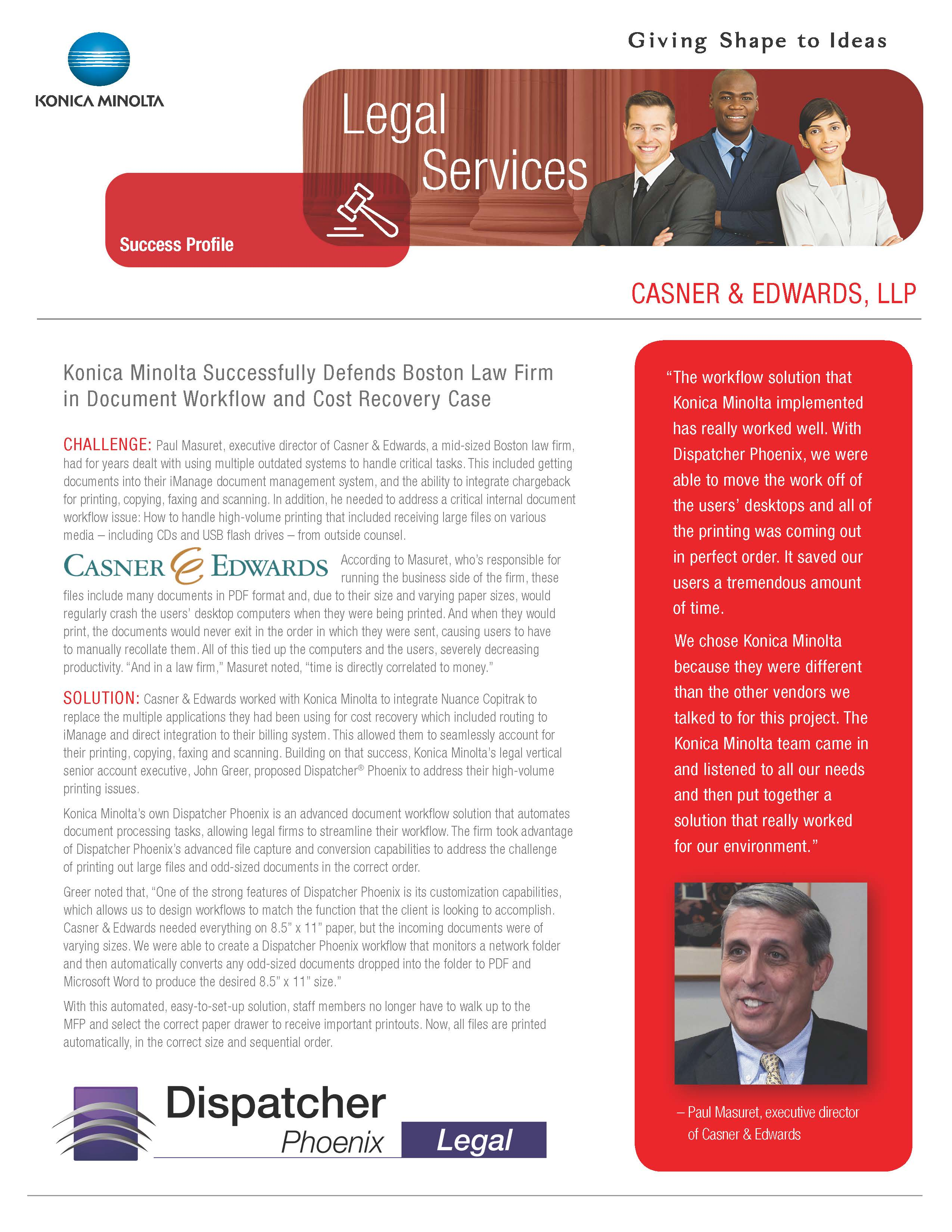 Case Study - Casner and Edwards Boston L...