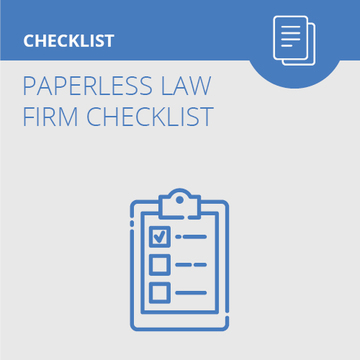Paperless Law Firm Checklist