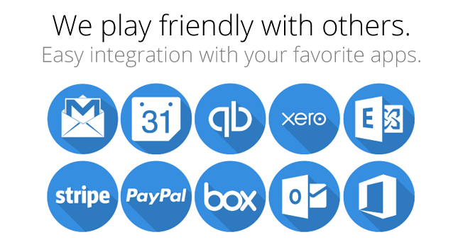 Integrate with your favorite apps.